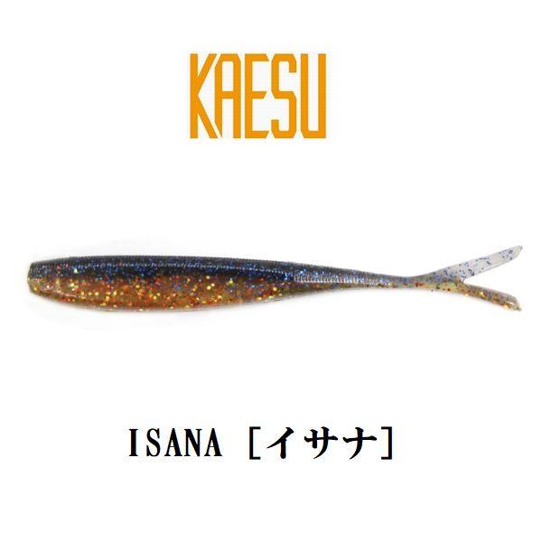 【メール便可】KAESU(カエス) ISANA[イサナ] 3.8インチ