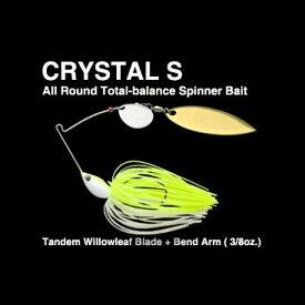 【メール便可】ノリーズ クリスタルS 3/8oz Tandem Willowleaf Tuned BEND WIRE