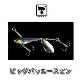 【メール便可】ジャッカル ビッグバッカースピン 40g
