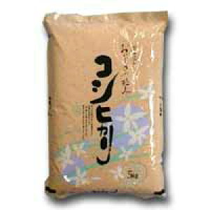 特別栽培米(減農薬・減化学肥料)自然乾燥米 一等米100% 富山県産こしひかり5kg