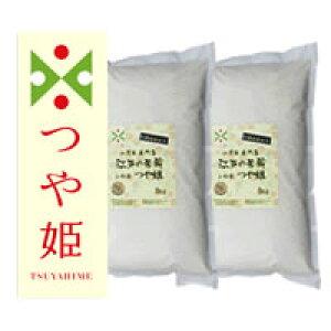 【定期購入・送料無料】≪特別栽培米≫山形県産つや姫5kg×2個(10kg)【初回特典 大幅値引き】