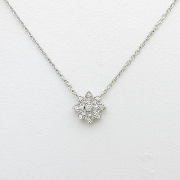 ティファニー フラワー ダイヤモンドネックレス【中古】