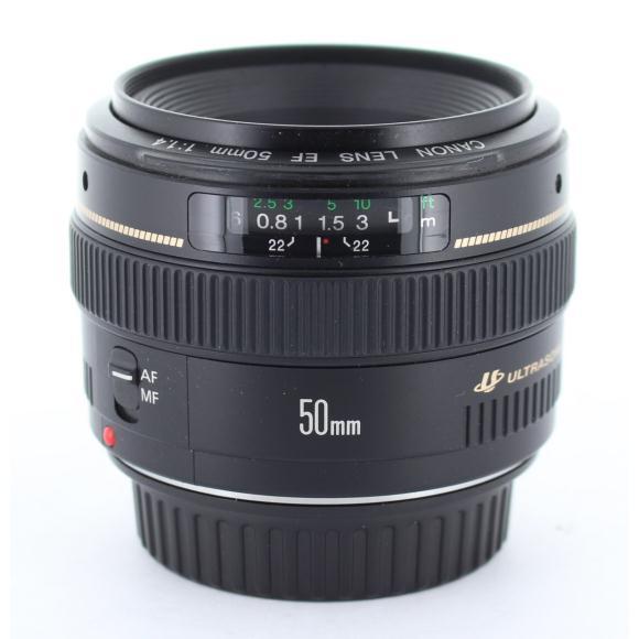 CANON EF50mm F1.4USM【中古】