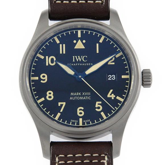 IWC IW327006 パイロットウォッチ・マークXVIIIヘリテージ TI 自動巻【中古】 【店頭受取対応商品】