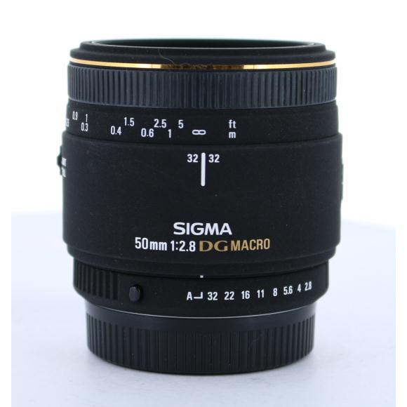 SIGMA ペンタ50mm F2.8EX DG MACRO【中古】