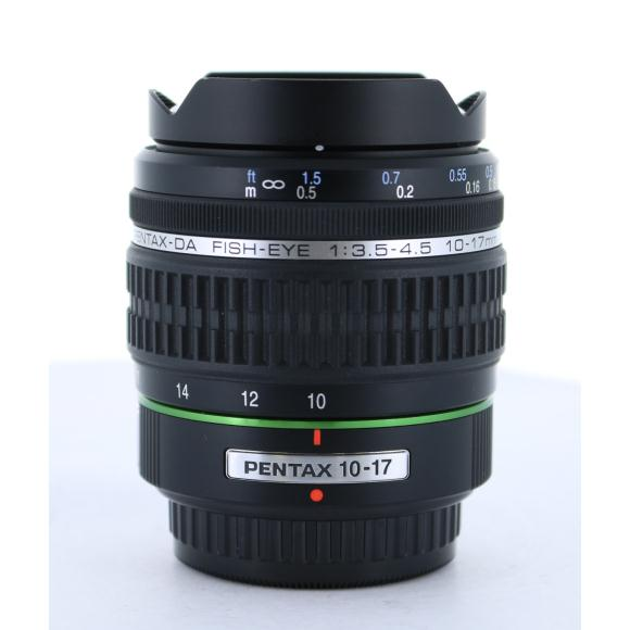 PENTAX DA10−17mm F3.5−4.5FISHEYE【中古】