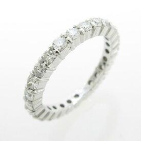687570fba1fb 中古 K18WG フルエタニティ ダイヤモンドリング【中古】. 中古品- ...