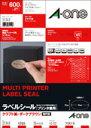 エーワン(A-one)/【31749】/ラベルシール プリンタ兼用 クラフト紙 ダークブラウン A4 40面 15枚