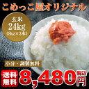 【送料無料】【小分無料】【調製無料】こめっこ屋オリジナル米玄米24kg(8Kg×3)【四国・九州・沖縄・離島は別途送料必要です】