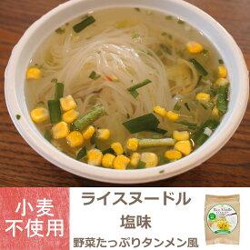 【グルテンフリー】 ライスヌードル塩味 野菜たっぷりタンメン風 フォー【辻安全食品】【小麦不使用】アレルギー対応
