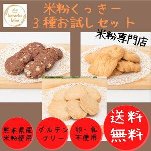 お菓子 米粉 焼き菓子 クッキー 1000円ポッキリ 送料無料 お試し グルテンフリー クッキー詰め合わせ アレルギー対応 卵不使用 乳製品不使用
