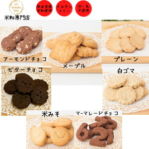 お菓子 米粉 焼き菓子 クッキー 選べる 1000円ポッキリ メール便送料無料 お試し グルテンフリー クッキー詰め合わせ アレルギー対応 卵不使用 乳製品不使用