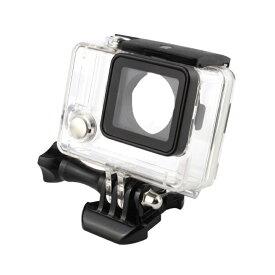 Gopro Hero4 Hero3+ Hero3 ハウジングケース 防水 ケース 40mまで 水中撮影用 ゴープロ gopro hero カメラ アクセサリー ハウジング 防水ケース ダイビング 防塵 保護ハウジング アクションカメラ 防水ハウジングケース カメラ防水ケース
