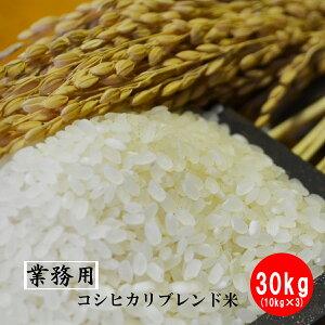 【業務用米】【生活応援米】佐賀県産 コシヒカリブレンド米 白米30kg(10kg×3)送料無料