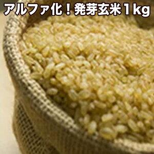 アルファ化!発芽玄米1kgα化加工でふっくら美味しく!消費吸収率もアップします!