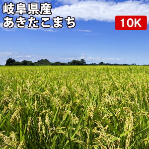新米 岐阜県産 あきたこまち 10kgお米【選べる搗き方 白米・ハイガ米・玄米・8分つきなど】完全真空包装米(真空包装代 無料)長期保存・鮮度維持・カビ、害虫などの繁殖 防止に♪ 美味し