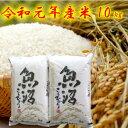 令和元年産 米 魚沼産コシヒカリ 10Kg 【本州地区送料無料】 新潟県認証特別栽培米 お米 5キロ×2袋 のし対応 ギフト…