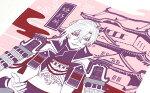 【メール便送料無料】城郭てぬぐい姫路城日本製和雑貨DESIGNER:長乃33×90cmTE-7008-04