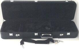 三線ケース ハードケース クロコダイルタイプ ブラック・黒