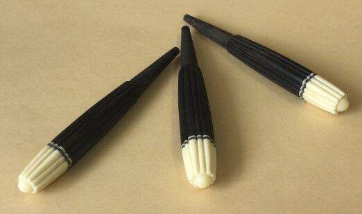 カラクイ 3本セット 黒木 ロケット(9)三線 オプション:糸穴あけ 紙やすり 有 激安