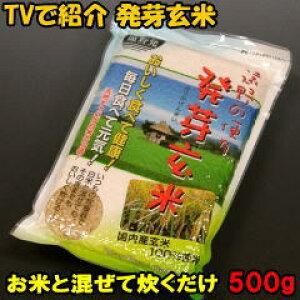 岩手 遠野産 発芽玄米 500g 白米に混ぜて炊くだけで お米の栄養成分アップ 楽天学割対象商品 【RCP】 【HLS_DU】
