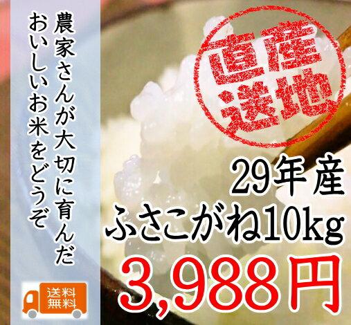 29年産千葉県産ふさこがね 10kg 太陽の恵たっぷりつやつや!!【送料無料】【10kg送料無料】一部地域を除きます。10kg、1袋の商品です。【米 10kg 送料無料】玄米 10kg 送料無料 玄米 あす楽