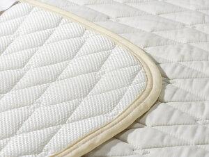 フランスベッドコットンメッシュベッドパッドシングル97cm×195cm|正規品ベッドパッドSサイズ寝具敷きパッドベッドパッドシングルコットン綿洗濯洗えるSサイズ