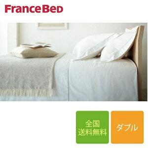 フランスベッド エッフェプレミアム マットレスカバー ダブルサイズ 140cm×195cm×40cm(マット厚35cm対応)