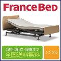 フランスベッド レステックス-01FNフレーム+イーゼルRXマットレス シングルサイズ 低床3モーター電動ベッド