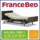 フランスベッド レステックス-05Cフレーム+イーゼルRXマットレス 3モーター 電動シングルベッド