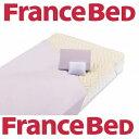 送料無料 フランスベッド ベッド用品3点セット グッドスリーププラスバイオ3点 シングルサイズ/抗菌防臭/洗濯可能