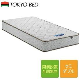 東京ベッド Newレヴ7 ブルーラベル ハード セミダブルマットレス 122cm×195cm×27cm