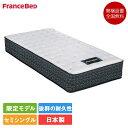 フランスベッド PR70-DDEX セミシングル マットレス 85cm×195cm×31cm | 正規品 ベッド マット SS 日本製 国産 人気 ダブルデッキ ス…