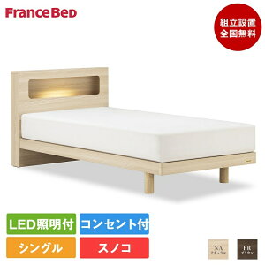 フランスベッドアニバーサリー70C-ZT-020脚付きシングルベッド(フレーム+マットレス)