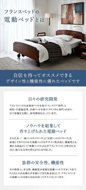 【非課税】フランスベッド 電動ベッド シングル レステックス05C 3モーター (フレーム) マイクロRX-V (専用マットレス)   ベッド マットレス付き 電動リクライニング 3M 上下 昇降 逆流性食道炎 介護 シングルサイズ restex 棚