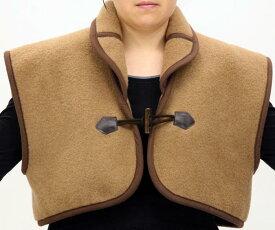 【300円OFFクーポン配布中】キャメル100%肩当て 069送料無料 肩口の冷気から暖かく守る! 】肩口の冷気から暖かく守る