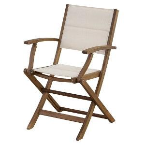 マリーノ チェア アーム付き アウトドア 椅子・テーブル・レジャーシート 椅子・テーブルセットNX-912 折りたたみ アカシア 山 海 ベランダ テレワーク リモートワーク ステイホーム 在宅