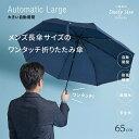折りたたみ傘 メンズ 小宮商店 DailyUseUmbrella 海外製 ブランド 専門店 雨傘「大きい自動開閉傘」ワンタッチ ビッグ…