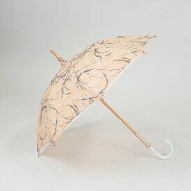 日傘 日本製 レディース 長傘 レース 二重張り  47cm UVカット 紫外線カット 遮光 遮熱 8本骨 高級 高品質 職人 手づくり おしゃれ ギフト プレゼント 贈り物