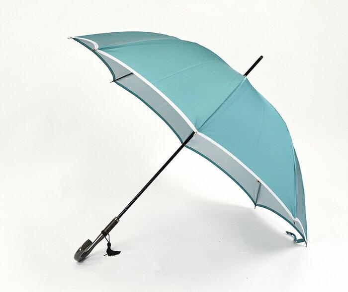 マラソン期間中ポイント10倍 傘 レディース 長傘 日本製 雨傘 晴雨兼用 おしゃれ 60cm 8本骨 大人 かわいい 可愛い 「甲州織 かさね」 軽い 軽量 大きい 大判 丈夫 風に強い 耐風 日傘 UVカット 遮光 無地 カーボン骨 手開き 雨晴兼用