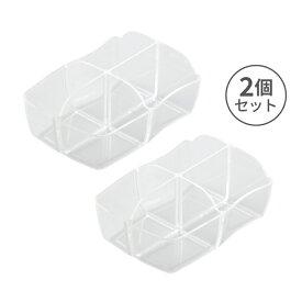 小森樹脂 レスボックス500用おかず入れ(2個セット)おかず入れ 2個セット レスボックス専用 レディース用 電子レンジ対応 4マス仕切り 冷凍 冷蔵 保存 作り置き 時短 お弁当 詰めるだけ 簡単 便利 洗いやすい 汚れが付きにくい ダイエット ストレスフリー