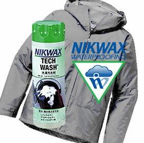 ニクワックス EBE181 Loftテックウォッシュ(レインウェア/ジャケット/スキーウェアー/フリース用) 撥水布地専用洗剤 非合成洗剤系洗剤 撥水 ※ゆうメール不可