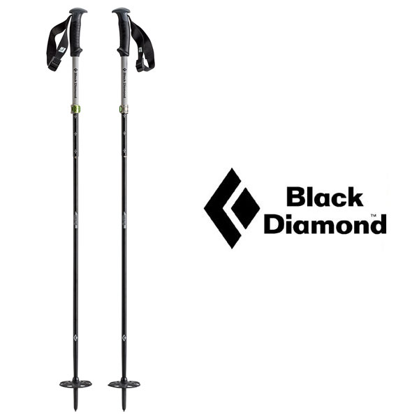 ブラックダイヤモンド ポール BD42005 コンパクター COMPACTOR SKI POLES スキーポール ストック スキーストック スキー用フォールディングポール Zポール ロストアロー正規取引店