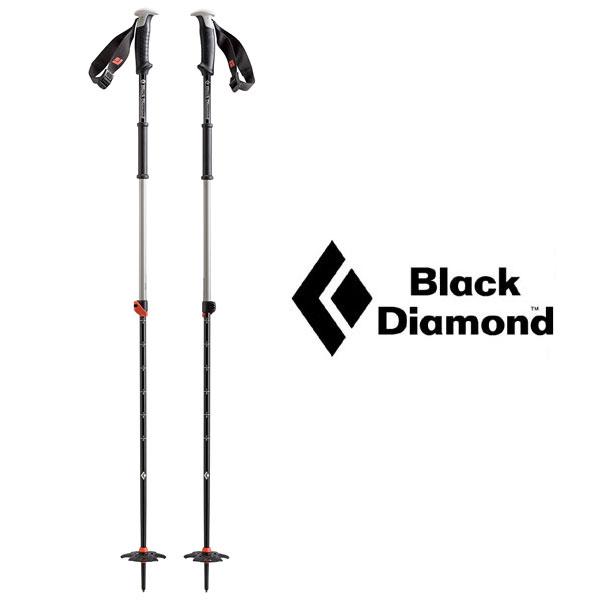 ブラックダイヤモンド ポール BD42008 トラバースポール【Traverse Ski Poles】【2セクションポール】【雪山用ストック】【冬山用ストック】【ロストアロー正規取引店】