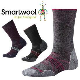 [キャッシュレス5%還元対象]スマートウール Ws PhDアウトドアミディアムクルーソックス SW71129 レディース/女性用 Women's PhD Outdoor Medium Crew Socks
