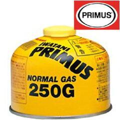 イワタニプリムス[IWATANI-PRIMUS]IP-250G(★ワンカラー)ノーマルガス(小)【ガスカートリッジ】【液化石油ガス】【バルブばね式】【燃料】【ストーブ/ランタン用】