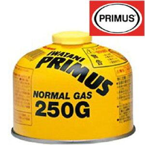 [エントリーでP5倍&割引クーポン5/16日1:59まで]プリムス ガス IP-250G ノーマルガス (小) ガスカートリッジ 燃料 ストーブ ランタン イワタニプリムス