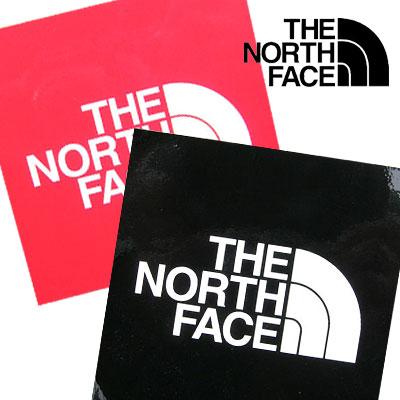 ノースフェイス TNFステッカー小 NN-9719 ブラック レッド 【ゆうパケットOK】