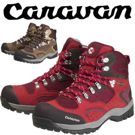 キャラバン 登山靴 CRVN0010106 キャラバンシューズC1_02S 0010106 レディース/女性用サイズ 22.5cm〜25cm トレッキングシューズ 登山靴 3E