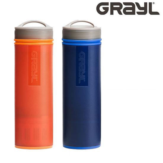 グレイル UL.ウォーターピュリファイヤーボトル GRAYL1899151 ULTRALIGHT PURIFIER BOTTLE OGオレンジ BLブルー